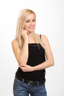 Free Fashion Girl Stock Image - 8372171
