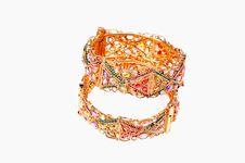 Free Golden Bracelets Stock Image - 8372891