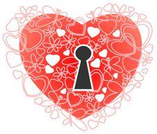Free Romantic Heart Royalty Free Stock Photos - 8373038