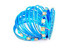 Free Blue Bangles Stock Photo - 8373780