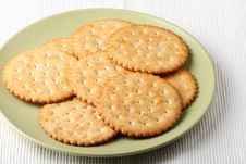 Free Plate And Cookies Stock Photo - 8373840