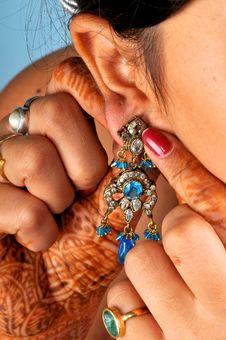 Diamond Earing Stock Images