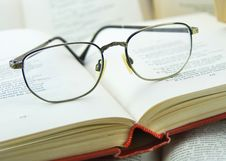 Free Books And Glasses Stock Photo - 8374500