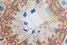 Free Euro Bank-notes Stock Photography - 8374592
