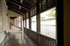 Free Ancient Chinese House Interior Royalty Free Stock Photos - 8375198