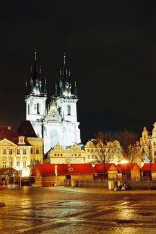 Free Tyn Church In Prague Stock Images - 8375484