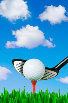 Free Outdoor Golf Royalty Free Stock Photo - 8375845