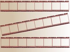 Free Old Film Strip Stock Image - 8376051