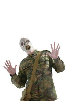 Free Gas Mask Royalty Free Stock Photos - 8376208