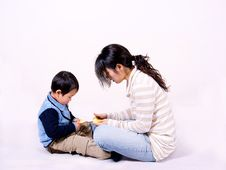 Free Boy And Mother Stock Photo - 8376540
