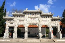 Free Chinese Traditional Gate Tower Royalty Free Stock Photos - 8376728