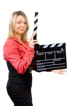 Free Making Movie Royalty Free Stock Photo - 8377785