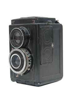 Free Old Movie Camera With Lens Close Up Royalty Free Stock Image - 8377866