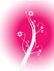Free Floral Background Royalty Free Stock Image - 8378166