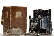 Free Vintage Camera Stock Photography - 8378332