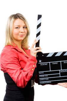 Free Making Movie Royalty Free Stock Photography - 8378407