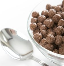 Free Bowl With Chocolate Balls Stock Photography - 8378622