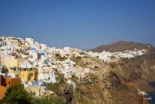 Free Oia, Santorini, Greece Stock Photos - 8378713