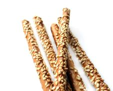 Free Savory Sticks With Sesame Royalty Free Stock Photography - 8379447