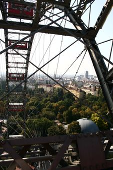Free Vienna From Prater Wheel Stock Images - 8379734