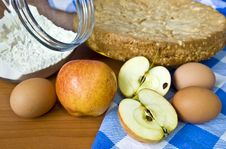 Free Food Ingredients For Baking Royalty Free Stock Images - 8379949