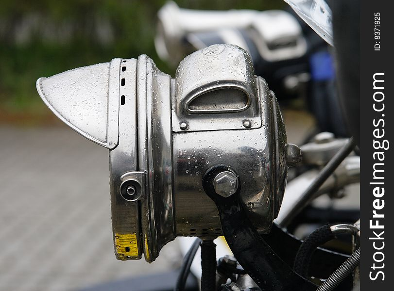 Vintage Motorcycle Headlight Free Stock Images Photos 8371925