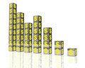 Free Yellow Dollar Money Chart Stock Image - 8384401