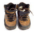 Free Pair Of Worn Boots Royalty Free Stock Photos - 8387368
