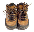 Free Pair Of Worn Boots Stock Photo - 8387390