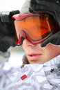 Free Snowboarder Looking In Goggles Stock Photo - 8389490