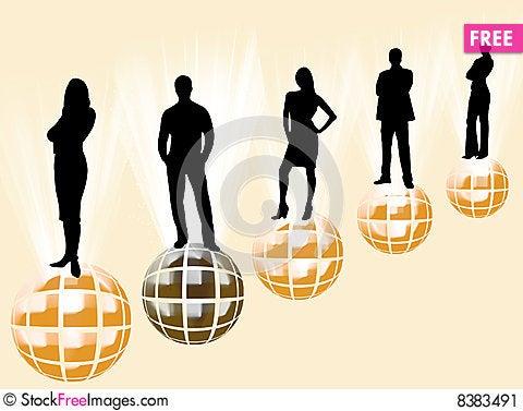 Free Leader Logo Stock Image - 8383491