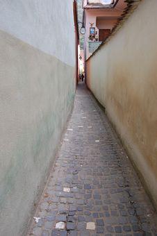 Free Rope Street, Romania Stock Photos - 8380363