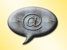 Free Sign @  E-mail Stock Images - 8380484
