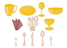 Free Kitchenware Icons Royalty Free Stock Images - 8380489