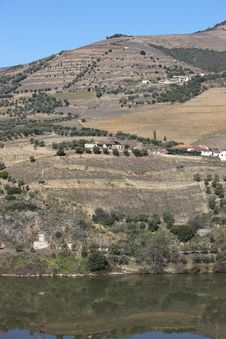 Free Douro River Landscape Royalty Free Stock Photos - 8380598