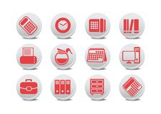 Office Equipment Buttons Royalty Free Stock Image