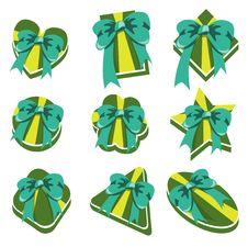 Free Present Boxs Royalty Free Stock Photos - 8380838