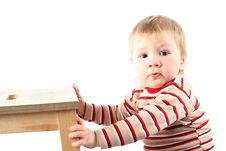 Free Little Blond Boy Stock Photo - 8381050