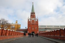Free Moscow Kremlin, Troitskaya Tower Royalty Free Stock Photos - 8381068