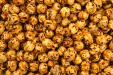 Chickpeas Texture Royalty Free Stock Image