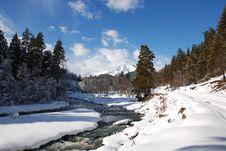Free In Mountain Caucasus Stock Photo - 8381230