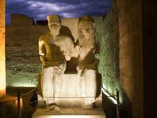 Free Pharaoh And Wife Royalty Free Stock Photos - 8381608