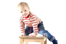 Free Little Blond Boy Royalty Free Stock Photos - 8382678