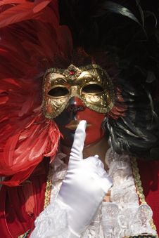 Free The Masks Of Venice Stock Image - 8382771