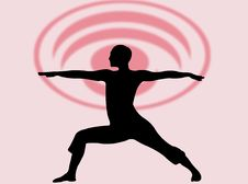 Yoga Expression Stock Photos