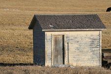 Free Farm Building, Alberta, Canada Stock Image - 8383421