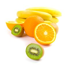 Free Kiwi, Oranges And Bananas Royalty Free Stock Photography - 8383587