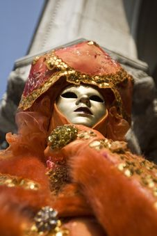 Free The Masks Of Venice Royalty Free Stock Photography - 8383607