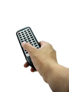 Thumb On Remote Royalty Free Stock Photography