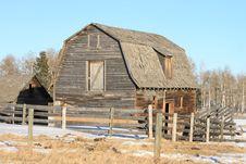 Free Farm Building, Alberta, Canada Royalty Free Stock Photos - 8383788